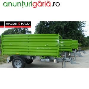 Imagine anunţ remorca agricola, 4 tone