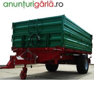 Imagine anunţ remorca agricola 5 tone, 6 tone