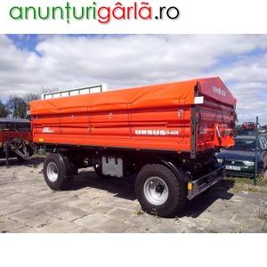 Imagine anunţ remorca agricola Ursus, 6 tone