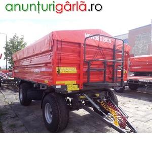 Imagine anunţ remorca agricola Ursus 8 tone