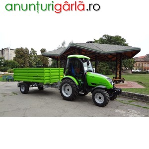 Imagine anunţ tractor agricol Tuber 40 cp, 4x4