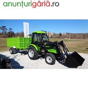 Imagine anunţ tractor agricol Tuber, 50 cp, 4x4