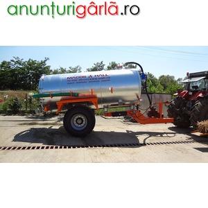 Imagine anunţ vidanje, cisterne de la 1200 la 20000 litrii