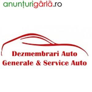 Imagine anunţ Dezmembrari Auto Generale si Service Auto Popesti Bucuresti