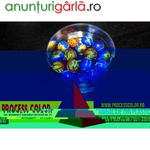 Imagine anunţ Ambalaje cilindrice pentru bomboane Process Color