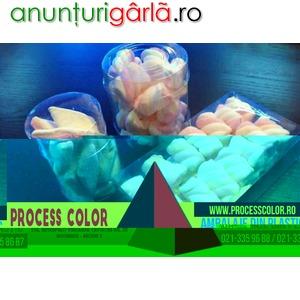 Imagine anunţ Ambalaje din plastic figurine Marshmallow Process Color
