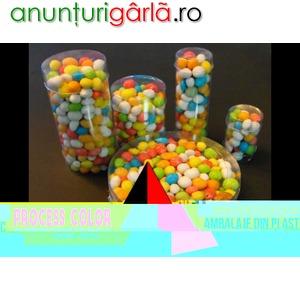Imagine anunţ Ambalaje drajeuri Process Color