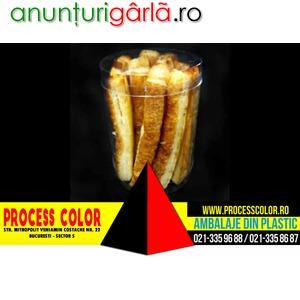 Imagine anunţ Ambalaje plastic saleuri Process Color