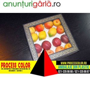 Imagine anunţ Cutie din carton cu fereastra 16 figurine din martipan Process Color