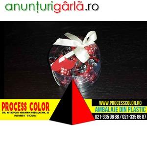 Imagine anunţ Cutii cilindrice pentru bomboane preambalate Process Color