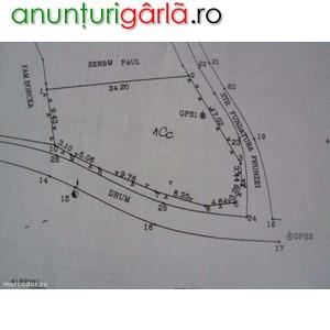 Imagine anunţ teren intravilan slanic prahova 476 mp acte la zi