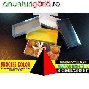Imagine anunţ Cutii carton 8 figurine martipan Process Color
