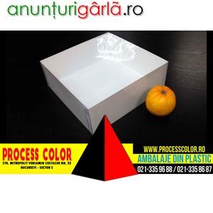 Imagine anunţ Cutii carton pentru torturi Process Color