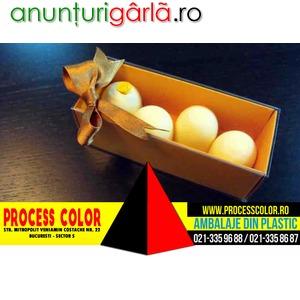 Imagine anunţ Cutii din carton colorat figurine Marshmallow