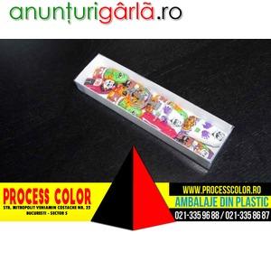 Imagine anunţ Cutii din carton pentru figurine ciocolata Process Color