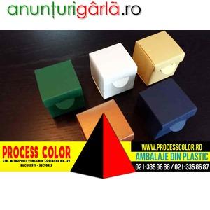 Imagine anunţ Cutii mici din carton marturii nunta Process Color
