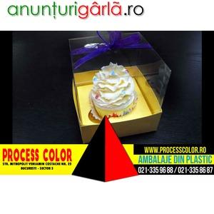 Imagine anunţ Cutii pentru cupcakes Process Color