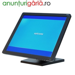 Imagine anunţ Monitor Touch 1720 cu stand VESA plastic si metal