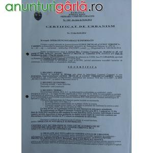 Imagine anunţ Teren Intravilan Loturi C-tii Destinatie Mixta Localitatea Copaceni Judetul Ilfov