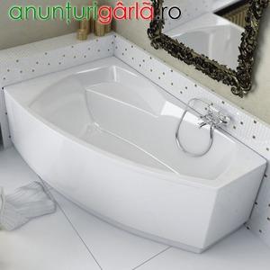 Imagine anunţ cazi de baie asimetrice