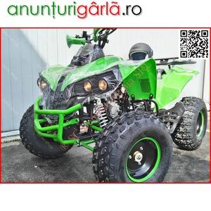 Imagine anunţ Atv KXD Warrior 125cc cadou accesorii, consumabile