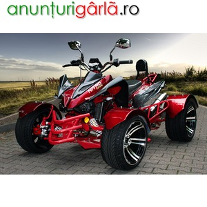 "Imagine anunţ BEMI 300cc EEC Renn Quad Automatik 14"" Alu Felgen RS14 Racing"