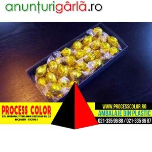 Imagine anunţ Cutii carton pentru bomboane Process Color