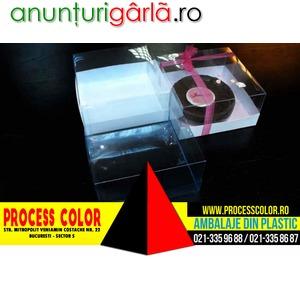 Imagine anunţ Cutii cu capac pentru torturi Process Color