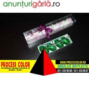 Imagine anunţ Cutii plastic personalizate figurine Marshmallow Process Color