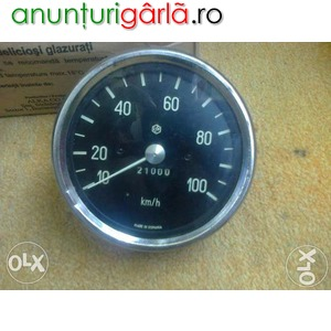 Imagine anunţ Vitezometru Raba, Vola, Betoniera Roman Diesel mecanic