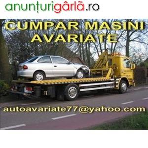 Imagine anunţ Cumpar Ford Fiesta Avariat, defect