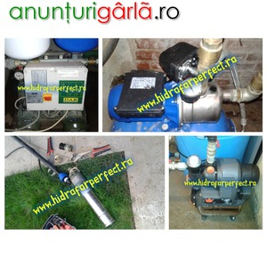 Imagine anunţ Service, montaj si reglaj hidrofor Bucuresti-Ilfov