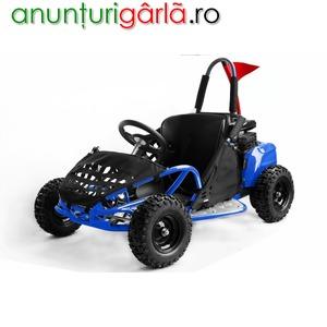 "Imagine anunţ Go Kart 6"" BEMI mini Buggy 80cc OHV 4T BLUE Edition"