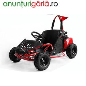 "Imagine anunţ Go Kart 6"" BEMI mini Buggy 80cc OHV 4T RED Edition"