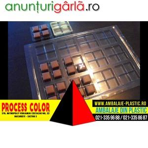 Imagine anunţ Tavi plastic transport praline Process Color