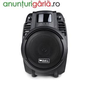 Imagine anunţ Boxa portabila Ibiza Sound POWER6-PORT-B 50W BT/USB/SD/AUX