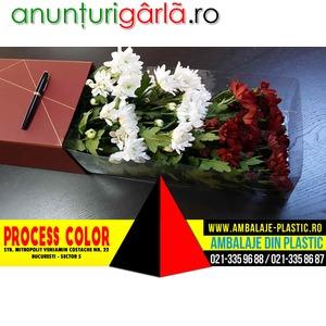 Imagine anunţ Cutii rigide de lux pentru ambalat flori Process Color