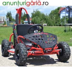 Imagine anunţ Atv Gladiator Kart Buggy 125cc Bonus-Casca