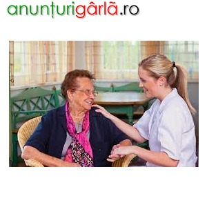 Imagine anunţ Care assistant/Infirmiera Anglia