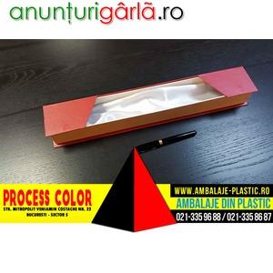 Imagine anunţ Cutie rigida cu magnet pentru cravata sau alte accesorii Process Color