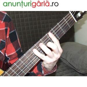 Imagine anunţ Meditatii chitara