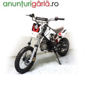 Imagine anunţ Moto Cross Nitro 14/12 GTX 125cc 4T automatic pornire cheie