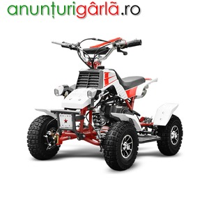 Imagine anunţ mini ATV Quadro 50cc Electro-Start livrare GRATIS