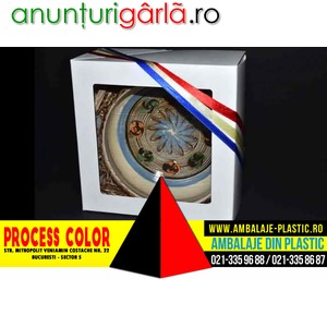 Imagine anunţ Cutii din carton pentru articole artizanat Process Color