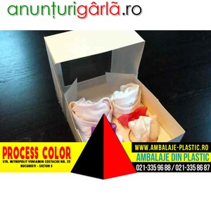 Imagine anunţ Cutii pentru body nou nascuti Process Color