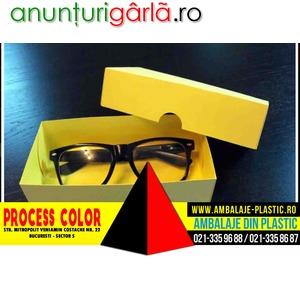 Imagine anunţ Cutii pentru ochelari Process Color