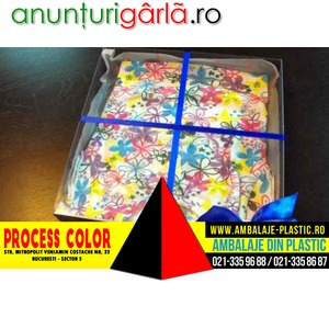 Imagine anunţ Cutii pentru tricouri Process Color