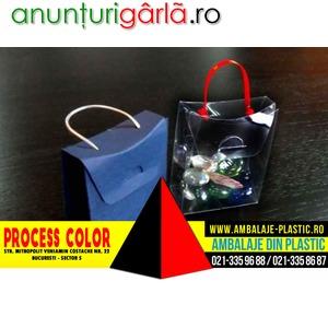 Imagine anunţ Cutiute din carton in forma de posetuta Process Color