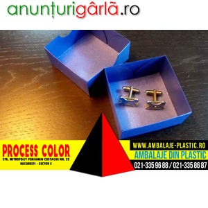 Imagine anunţ Cutiute pentru butoni Process Color