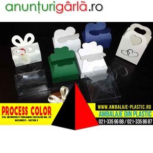 Imagine anunţ Cutiute pentru cadouri Process Color